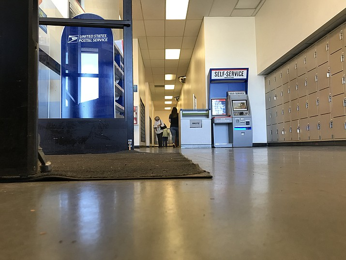 Mayor Kell Palguta said Oct. 10, 2019, that he wants to relocate the main branch of the Prescott Valley Post Office, seen here at 8307 E. Highway 69 Suite 1, to a more centralized site in the near future. (Tribune photo)