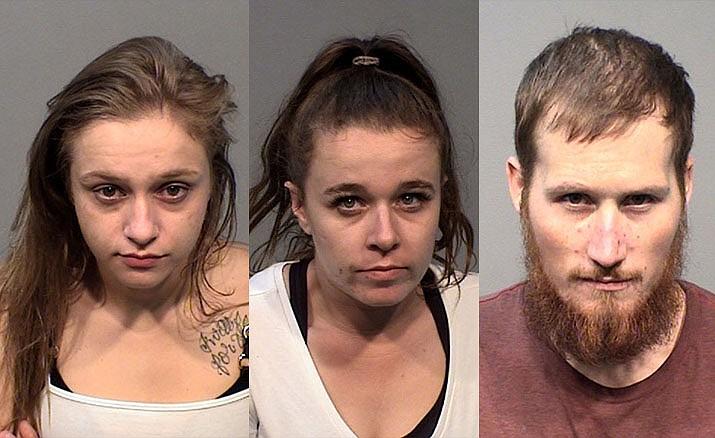 Alexandria Marie English, Lynn Prevatt and Cody James Wilkins (PVPD/Courtesy)