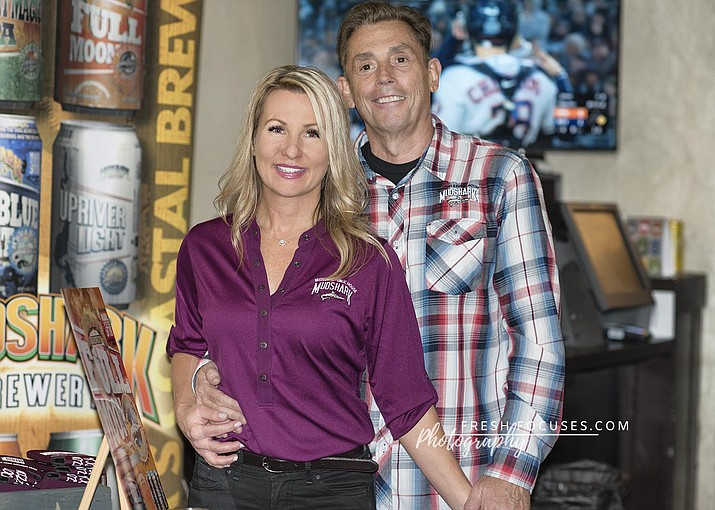 Mudshark Brewery is based out of Lake Havasu and is a solar-powered brewery producing craft beers. (Veronica Tierney/WGCN)
