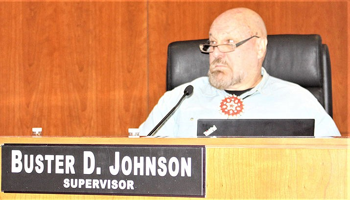 Supervisor Buster Johnson of District 3, Monday, Oct. 7, 2019. (Photo by Agata Popeda/Daily Miner)