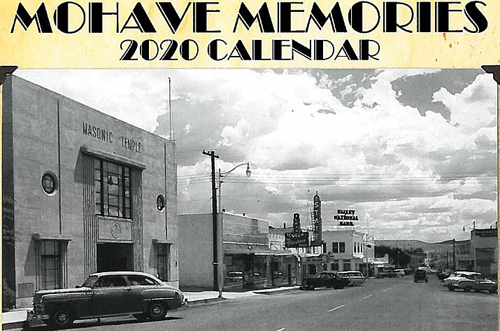 The Historical Preservation Commission 2020 Calendar features historic photos of Kingman, and can be purchased for $15 at the Planning and Economic Development Office on the lower level of the City complex at the corner of Fourth and Oak streets. (Photo courtesy of HPC)