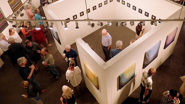 Visit over 15 local art gallery venues throughout downtown Prescott on Friday, Oct. 25 including the Yavapai College Art Gallery, shown here. (Yavapai College)