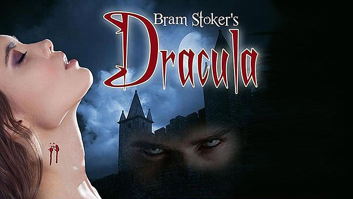 "Bram Stoker's ""Dracula,"" 7:30 p.m. Friday and Saturday Oct. 24-26 and Thursday through Saturday, Oct. 31-Nov. 2; 2 p.m. Sunday, Oct. 27 and Saturday and Sunday, Nov. 2-3, Prescott Center for the Arts Main Stage, 208 N. Marina St. Tickets are $22 for adults, $20 for seniors and $17 for youth. www.pca-az.net."