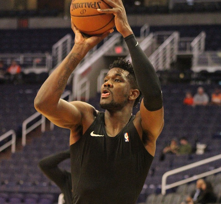 Phoenix's Deandre Ayton was suspended 25 games without pay by the NBA on Thursday night for violating the terms of the NBA/NBPA Anti-Drug Program by testing positive for a diuretic.
