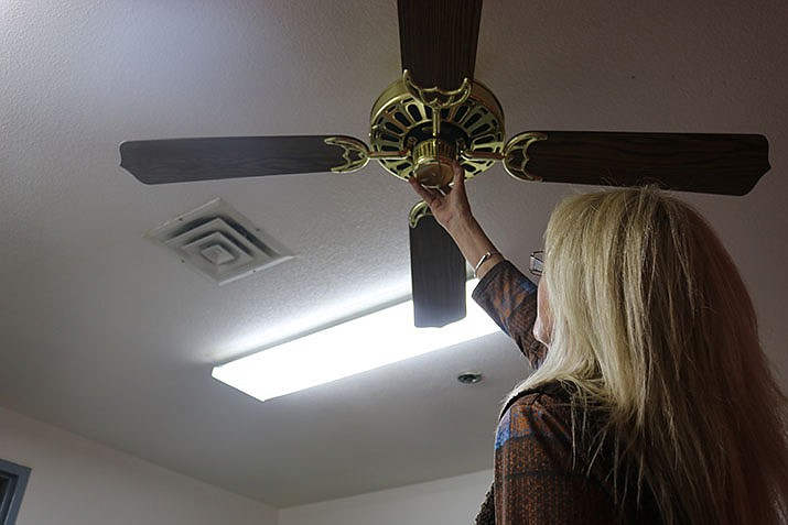 Changing the rotation of fans, along with a number of other simple tips, can result in energy savings during the winter months. (Photo by Travis Rains/Daily Miner)