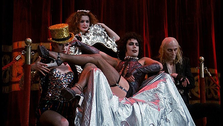The Rocky Horror Picture Show with shadow casting done by One Stage Family Theater will be at the Elks Theatre Performing Arts Center, 117 E. Gurley St. in Prescott at 7 p.m. on Saturday, Oct. 26. (20th Century Fox)