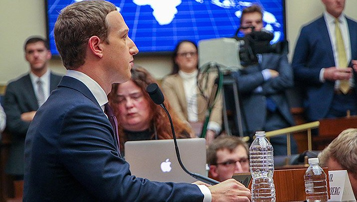 Facebook CEO Mark Zuckerberg's grilling Wednesday in front of a House committee.(Photo by Amy Xiaoshi De Paola/Cronkite News)