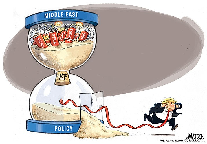 Editorial cartoon (2): Oct. 25, 2019
