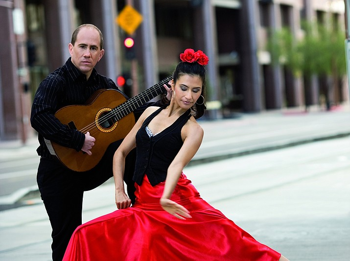 Flamenco concert featuring Chris and Lena Jácome will be in Prescott on Friday, Nov. 1, for the Fridays with AZ Phil performance at the Top of the Elks, an event that includes heavy appetizers catered by El Gato Azul. (Arizona Philharmonic/Courtesy)