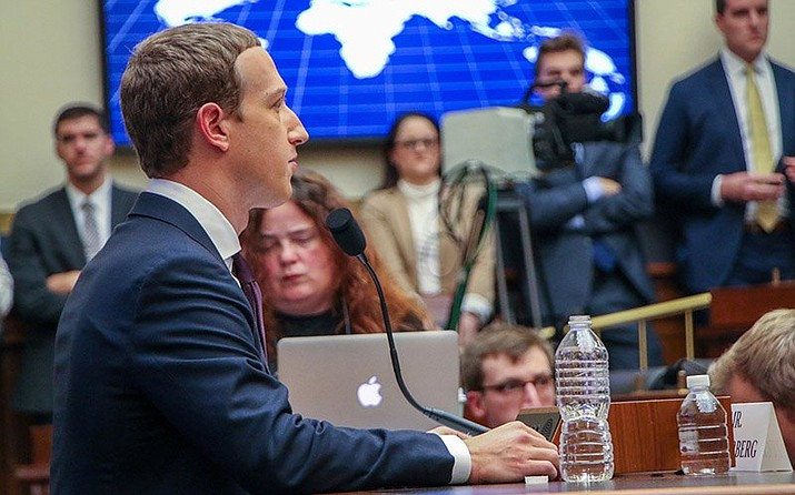 Facebook CEO Mark Zuckerberg faced a congressional hearing over the company's practices last week. The state of Arizona has joined 46 other states investigating the social media giant for possible antitrust violations. (Photo by Amy-Xiaoshi DePaola/Cronkite News)