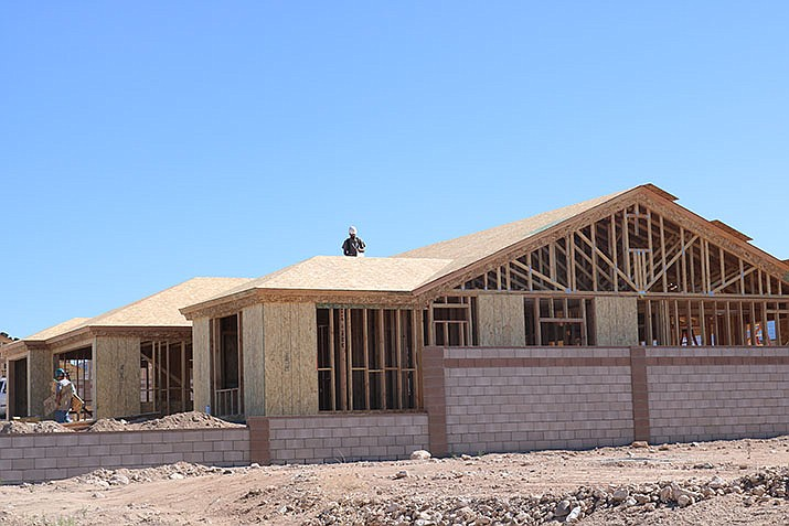 The City of Kingman issued 18 building permits during the week ending Oct. 17. (Photo by Travis Rains/Daily Miner)