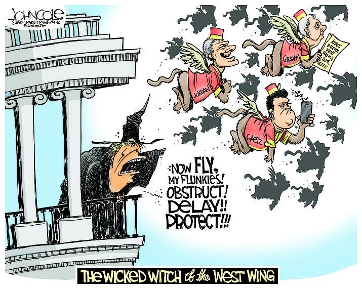 Editorial cartoon (1): Oct. 28, 2019