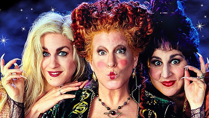 Hocus Pocus is playing at the Elks Theatre and Performing Arts Center at 7 p.m. on Wednesday, Oct. 30. (Disney Movies)