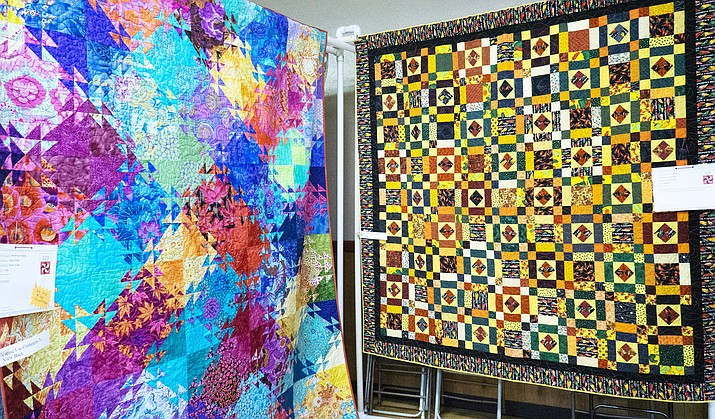 There were 80 quilts displayed by 60 quilters. (Todd Roth/NHO)