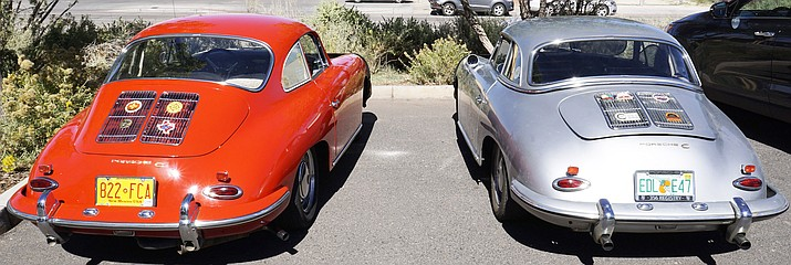 The USA Porsche Club stopped for lunch in Winslow in Oct. 3. (Todd Roth/NHO)