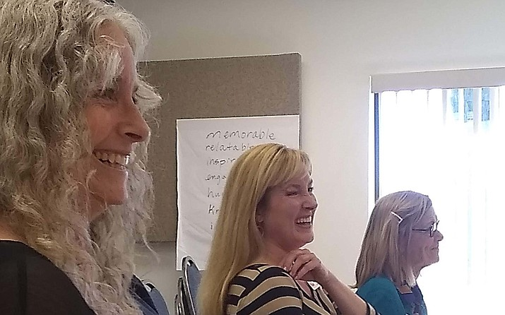 Verde Valley Leadership Class XIV learned about effective presentation skills Oct. 18. VVL Courtesy photo