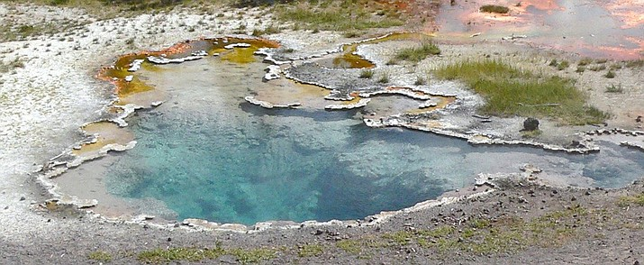 At least 22 people are known to have died from hot spring-related injuries in and around Yellowstone since 1890. (Photo/NASA)