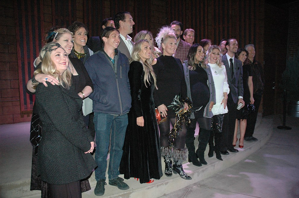 All of the dance teams competing in the 2020 Dancing for the Stars event, all of whom were revealed at The Grand Highland Hotel Wednesday, Oct. 30. (Jason Wheeler/Courier)