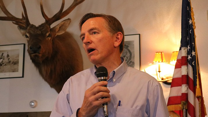 Rep. Paul Gosar, R-Prescott, cast a neutral vote on the Oct. 30 House resolution recognizing the Armenian genocide. (Daily Miner file photo)
