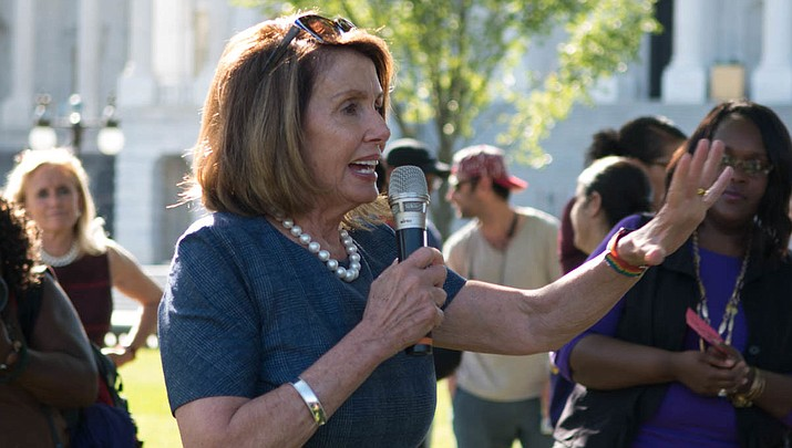 Speaker of the House Pelosi will meet with her caucus later as more House Democrats are urging an impeachment inquiry amid reports that President Donald Trump pressured Ukraine to investigate former Vice President Joe Biden and his family. (Photo provided by Flickr)