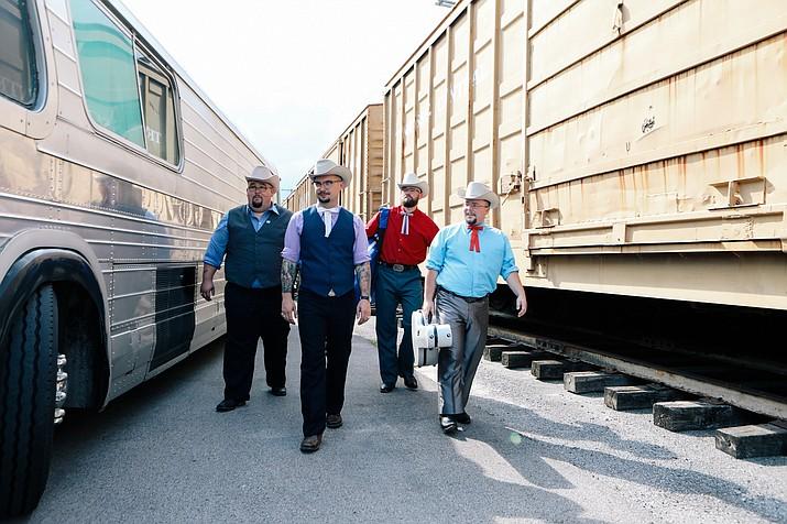 Bluegrass group Po' Ramblin' Boys. (Courtesy)