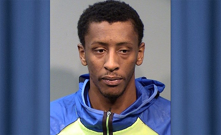 Northern Arizona Suns forward Troy Williams, 24, was arrested and charged with assault and disorderly conduct by Prescott Valley Police on Friday, Nov. 1, 2019. He was later released by the Suns. (YCSO/Courtesy)