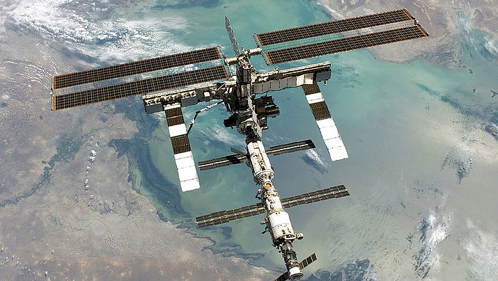 A resupply mission to the International Space Station includes an oven for baking cookies. (Public Domain)