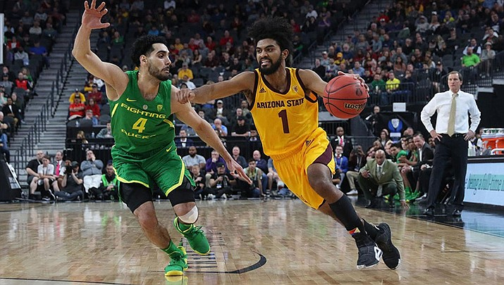 Remy Martin and the Sun Devils open the 2019-20 season in China as they'll battle Colorado in a non-conference contest at 8:30 p.m. Friday. (Photo courtesy of Sun Devil Athletics)
