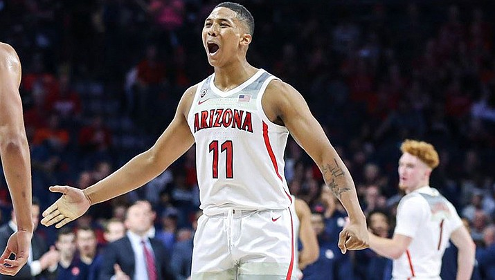 Ira Lee and the Wildcats open the 2019-20 regular season on Wednesday, Nov. 6 at home against Northern Arizona. Tip-off is scheduled for 7:00 p.m. (Photo courtesy of Mike Christy/Arizona Athletics)