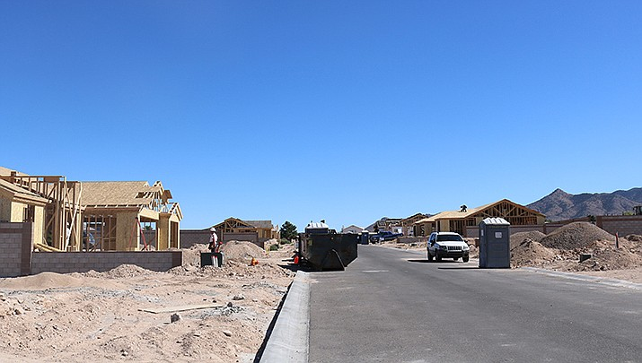The City of Kingman issued 18 building permits during the week ending Oct. 31. (Photo by Travis Rains/Daily Miner)