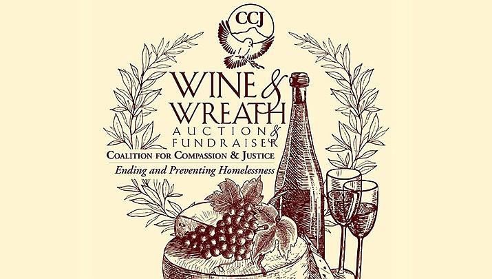 The Wine & Wreath Auction and Fundraiser will be held at the Elks Theatre and Performing Arts Center, 117 E. Gurley St., Third Floor in Prescott from 5 to 8 p.m. on Thursday, Nov. 7. (Elks Theatre and Performing Arts)