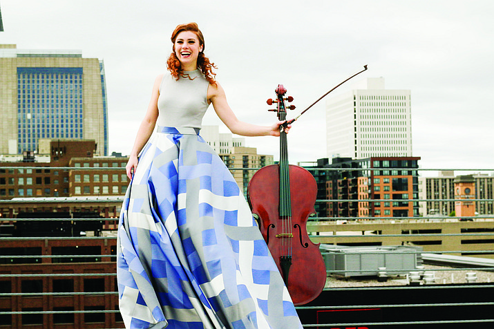 Cicely Parnas will play the Shostakovich Cello Concerto No. 1 in Eb with the Sinfonietta in the Sedona Performing Arts Center at 2:30 p.m. Nov. 10.