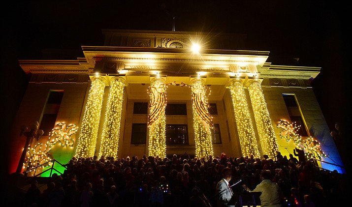 A Courthouse Christmas Lighting Fundraiser Kick-off Party will be held at Jersey Lilly Saloon, 116 S. Montezuma St. in Prescott from 4 to 7 p.m. on Thursday, Nov. 7. (Les Stukenberg/Courier, file).