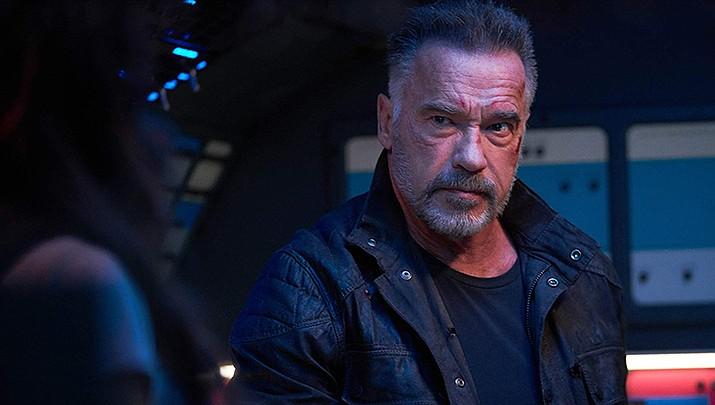 Arnold Schwarzenegger appears in Terminator: Dark Fate. (IMDb photo)