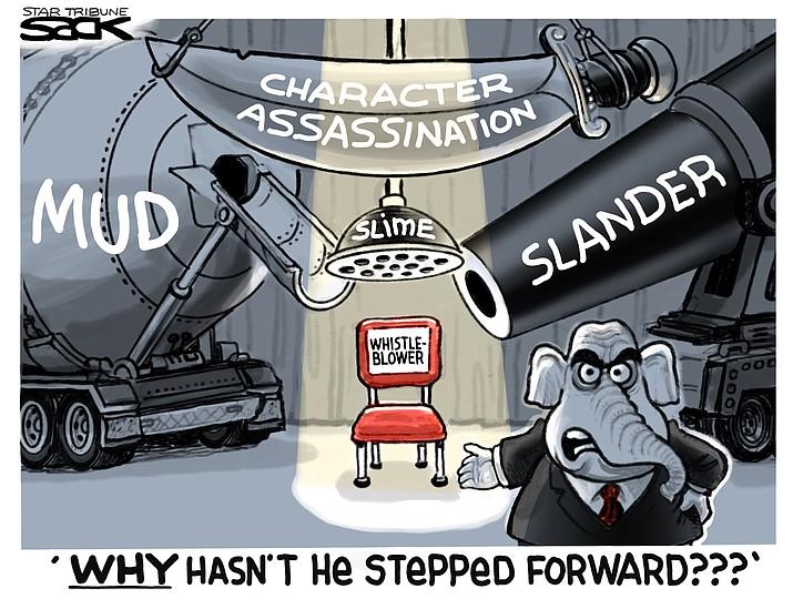 Editorial cartoon (2): Nov. 6, 2019