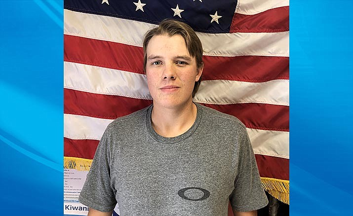 Camp Verde High School senior Coke Bast is the school's October Kiwanis Student of the Month.