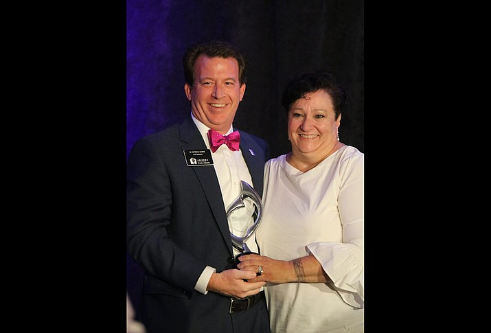 Lisa Paffrath received the 2019 Tyler Strout Vision Award. She has been in the realty business since 2004. (Submitted photo)
