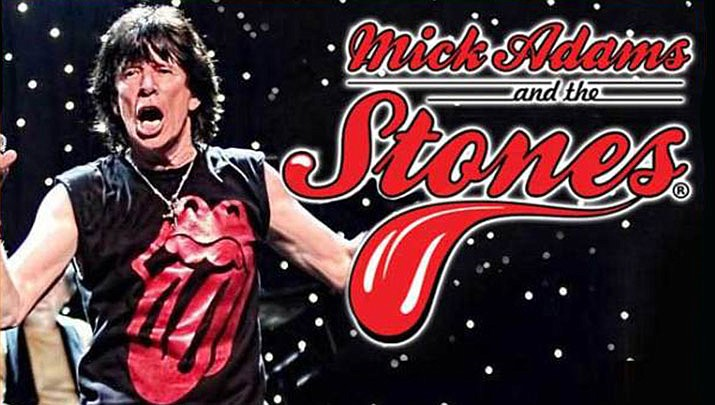 Mick Adams and the Stones will be performing at the Elks Theatre Performing Arts Center, 117 E. Gurley St. in Prescott at 7 p.m. on Friday, Nov. 8. (Elks Theatre Performing Arts Center)