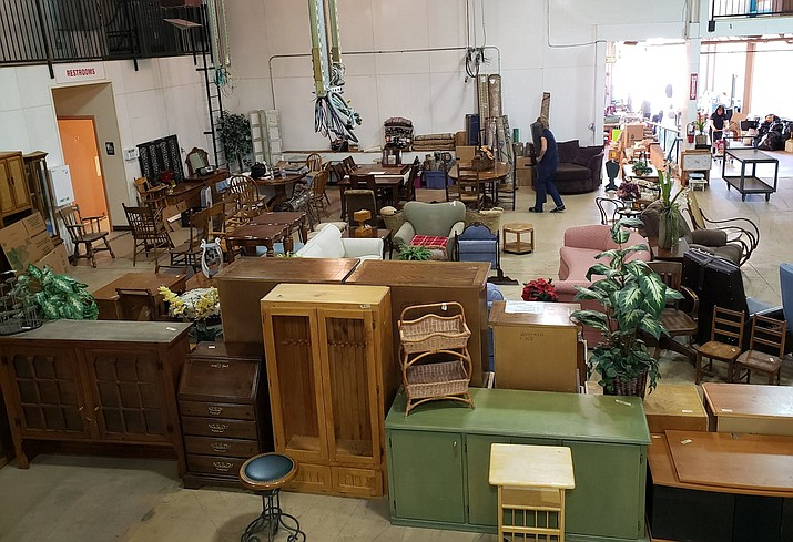"United Animal Friends' annual ""Rummage to the Rescue"" rummage sale will be held over two weekends at Fortner Warehouse, 428 N. Mount Vernon Ave. in Prescott. (United Animal Friends)"