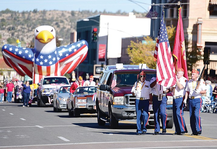 The City of Prescott is honoring those who have served with its annual Veteran's Day Parade through downtown Monday, Nov. 11.