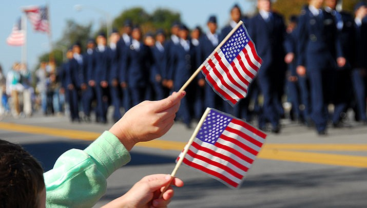 A Veterans Day Parade will take place in downtown Prescott on Monday, Nov. 11. (Stock image)