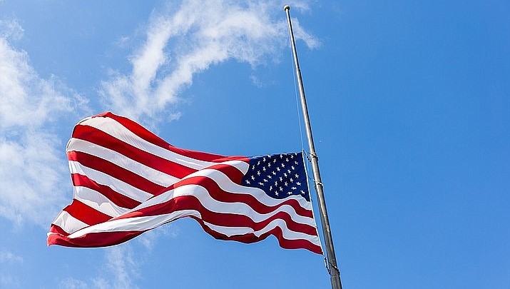 flags at half mast today 2020