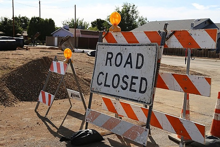 Kino Avenue from Willow Road to Walleck Ranch Drive, Kino Avenue from Irving to Miller streets, and Western Avenue between Davis and Motor avenues will all see closures in the coming week. (Photo courtesy of the City of Kingman)