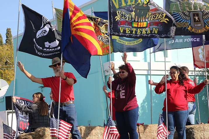 Downtown Kingman held its annual Veterans Day Parade on Saturday. (Photo by Travis Rains/Daily Miner)