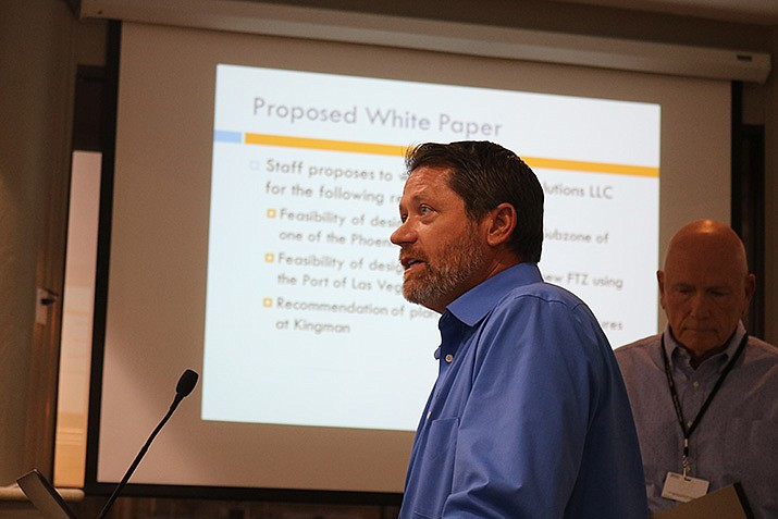 Staff provided City Council with a brief overview of Foreign Trade Zones and how they could be utilized by Kingman at the last regularly scheduled council meeting.