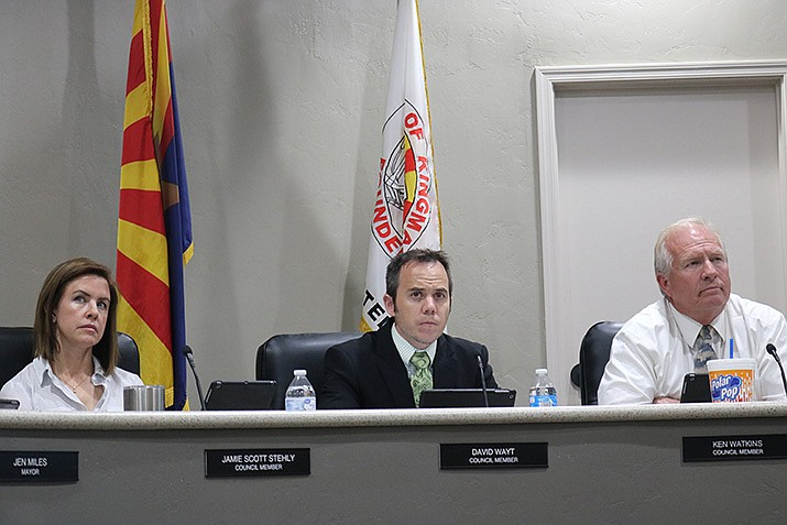 City Council had a lengthy consent agenda for its Tuesday, Nov. 5 meeting, but all matters were approved in a single motion without discussion. (Photo by Travis Rains/Daily Miner)