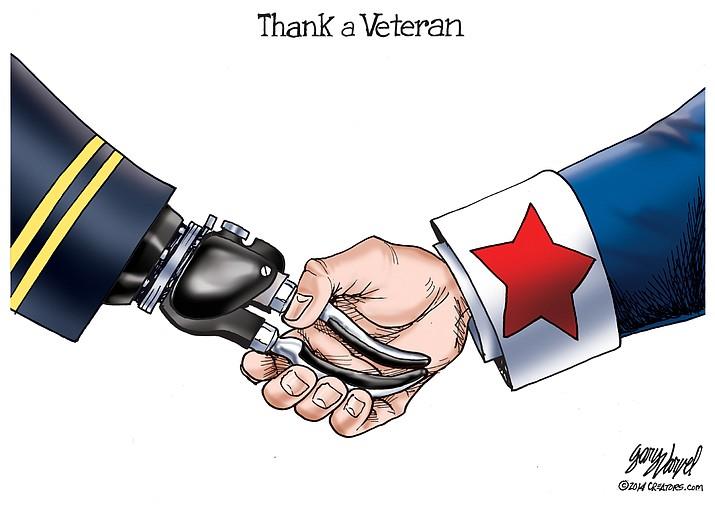 Editorial cartoon (2): Nov. 11, 2019