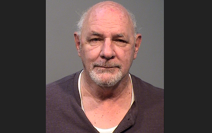 Joseph Collins, 72, of Prescott Valley was arrested for allegedly impersonating a peace officer on Nov. 9, 2019. (YCSO/Courtesy)