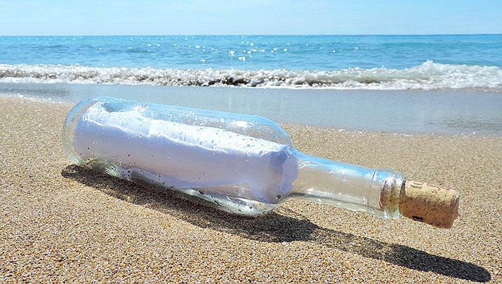 A Massachusetts college student has received a response to a message he threw into the ocean when he was 10 years old. (Stock image)