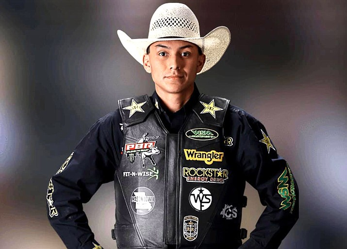 PBR Cody Jesus competed in the PBR Finals this month. (Photo/Facebook via Office of the President and Vice President)